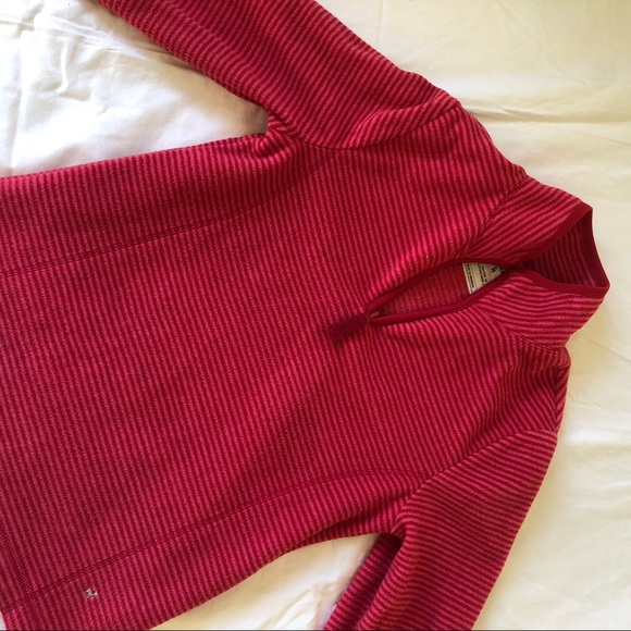 Pink/red striped sweater!-LIGHTLY WORN